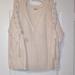 Venus chunky cream sweater